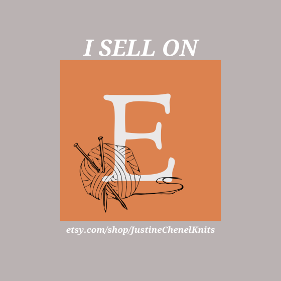 i sell on etsy graphic